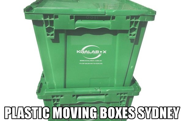 plastic moving boxes sydney on rent